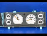 1991-1996 Jeep Cherokee Non Tach White Face Gauges