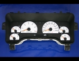 1997-2000 Cherokee KMH METRIC White Face Gauges 97-00 XJ KPH