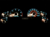 1997-2001 Jeep Cherokee White Face Gauges 97-01