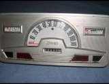 1966-1973 Jeep Commando White Face Gauges