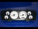 1999-2001 Grand Cherokee METRIC White Face Gauges KMH KPH 99
