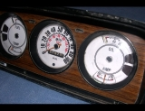 1974-1983 Jeep Wagoneer White Face Gauges