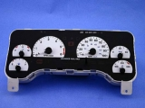 1997-2000 Jeep Wrangler White Face Gauges 97-00 TJ
