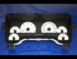 2003-2006 Jeep Wrangler White Face Gauges