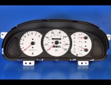 2000-2001 Kia Spectra White Face Gauges