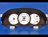 1998-1999 Kia Sephia White Face Gauges