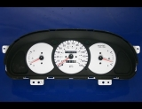 1998-2000 Kia Sephia NON TACH White Face Gauges
