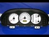 2002-2004 Kia Spectra White Face Gauges 02-04