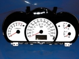 2004-2006 Kia Spectra White Face Gauges 04-06