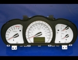 2007-2008 Kia Spectra White Face Gauges