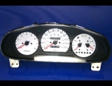 1998-2000 Kia Sportage White Face Gauges