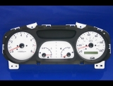 2001-2002 Kia Sportage White Face Gauges