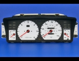 1994-1999 Land Rover Discovery White Face Gauges