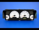 2003-2004 Land Rover Discovery White Face Gauges
