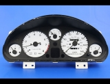 1994-1997 Mazda Miata White Face Gauges