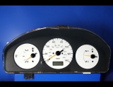 1997-1998 Mazda Protege Non-Tach White Face Gauges