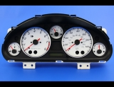 2001-2005 Mazda Miata MX-5 White Face Gauges