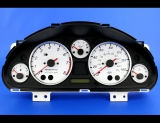 2004-2005 Mazda Miata MX-5 Turbo White Face Gauges