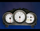 2004-2006 Mazda 3 White Face Gauges 04-06