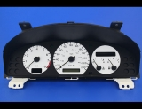 1998-1999 Mazda 626 Metric White Face Gauges 98-99