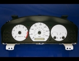 1998-1999 Mazda 626 White Face Gauges - Whitegauges.net