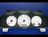 2000-2002 Mazda 626 White Face Gauges