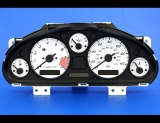 1999-2000 Mazda Miata White Face Gauges 99-00
