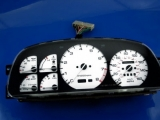 1986-1988 Mazda RX7 Turbo FC White Face Gauges 86-88
