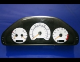 1999-2000 Mercedes C230 White Face Gauges Kompressor W202