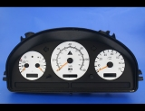 1999 Mercedes ML320 White Face Gauges 99