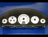 1995-1997 Mercedes S320 W140 White Face Gauges