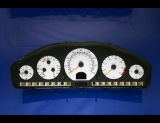 1998-1999 Mercedes S500 S420 White Face Gauges W140 98-99