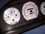 1984-1993 Mercedes w126 White Face Gauges