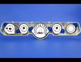 1966 Mercury Cyclone White Face Gauges