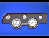 1967-1968 Mercury Cougar XR7 White Face Gauges