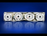 1971-1973 Mercury Cougar XR7 White Face Gauges