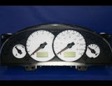 1999-2003 Mercury Cougar METRIC White Face Gauges KPH KMH