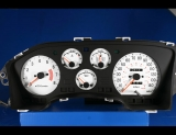 1990-1994 Mitsubishi Eclipse Laser Talon 1.8L SOHC Non-Turbo White Face Gauges