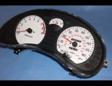 1991-1993 Mitsubishi 3000GT 180 Mph VR4 White Face Gauges