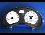 1991-1993 Mitsubishi 3000GT 160 Mph Non-Turbo White Face Gauges