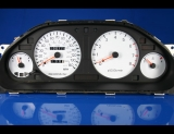 1994-1995 Mitsubishi Galant White Face Gauges