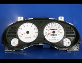 1995-1999 Mitsubishi Eclipse White Face Gauges
