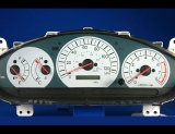 2002-2003 Mitsubishi Galant White Face Gauges