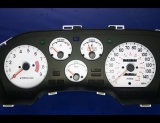 1990-1994 Mitsubishi Eclipse Talon Laser 2.0L DOHC Non-Turbo White Face Gauges