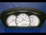 2004-2005 Mitsubishi Galant White Face Gauges