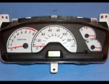 2002-2004 Mitsubishi Lancer White Face Gauges