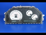 1989-1992 Mitsubishi Mirage Non Tach White Face Gauges
