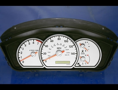 click here for Mitsubishi white gauges