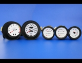 1977-1978 Nissan 280Z METRIC KPH KMH White Face Gauges