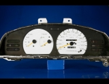 1991-1992 Nissan Sentra Non-Tach No Clock White Face Gauges